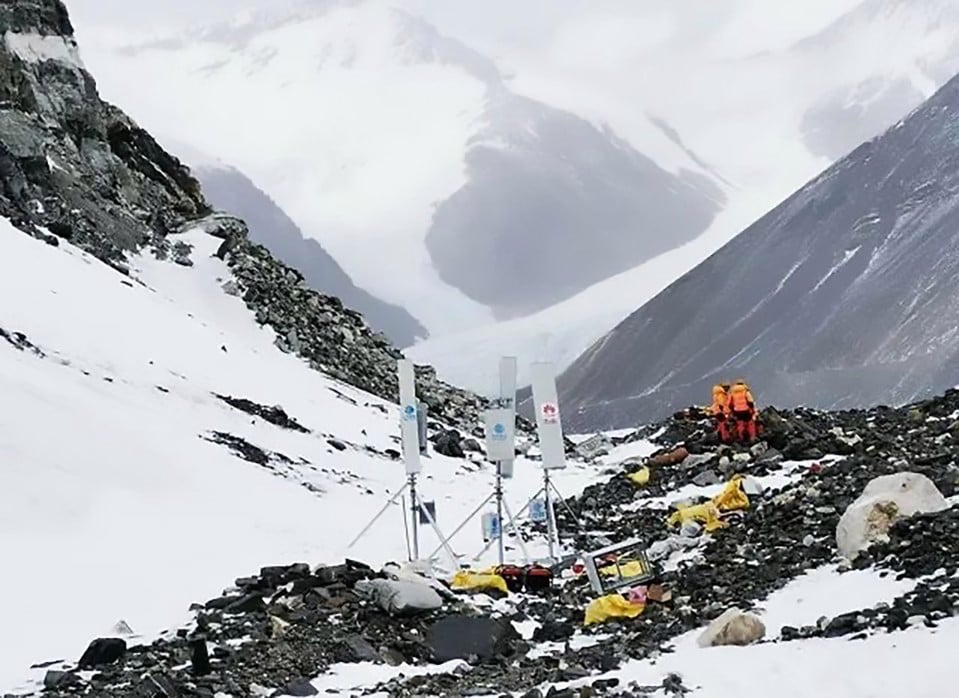 5G Network Towers on Mount Everest by Huawei. Read..