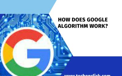 How does google algorithm work?